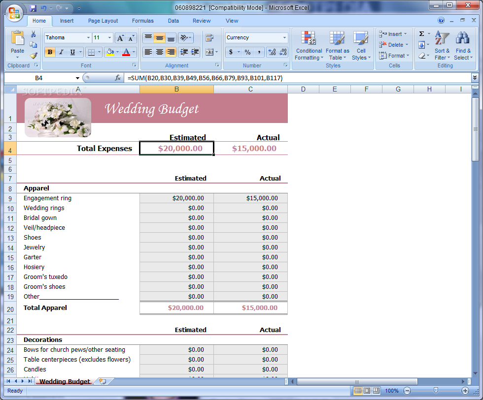 Wedding Budget Excel Spreadsheet Uk Throughout Wedding Budget Spreadsheet Uk Wedding Spreadsheet Template Wedding