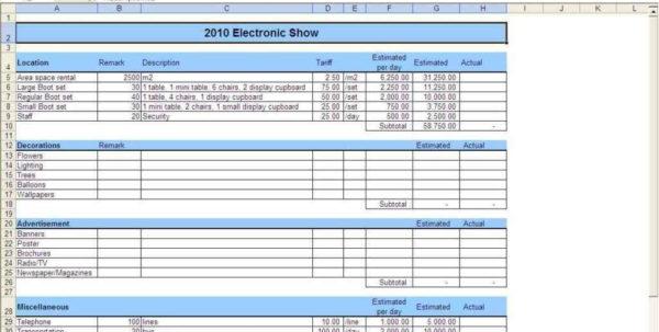 Wedding Budget Excel Spreadsheet With Wedding Budget Sample Spreadsheet  Rent.interpretomics.co Wedding Budget Excel Spreadsheet Google Spreadsheet