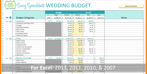 Wedding Budget Planner Spreadsheet Uk With Regard To 8  Budget Planner Spreadsheet Uk  Credit Spreadsheet