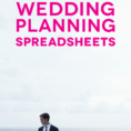 Wedding Checklist Spreadsheet With Customizable And Free Wedding Spreadsheets
