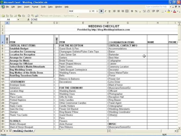 Wedding Cost Spreadsheet Throughout Wedding Cost Spreadsheet Template  Readleaf Document