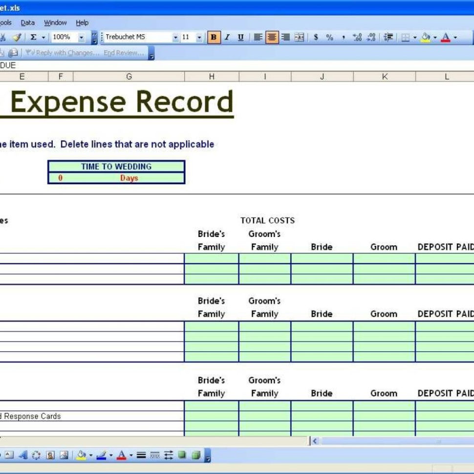 Wedding Excel Spreadsheet Within Budget Planning Spreadsheet Planner Printable Worksheet Free Uk