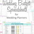 Wedding Expense Excel Spreadsheet For Wedding Budget Excel Spreadsheet Branded Budgets Pinterest File