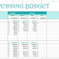 Wedding Expense Excel Spreadsheet Regarding Free Wedding Budget  Excel Template  Savvy Spreadsheets With