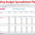 Wedding Planner Excel Spreadsheet Intended For Wedding Planner Budget Template Excel Spreadsheet Wedding  Etsy