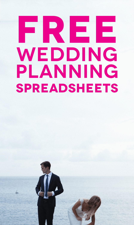 Wedding Planner Excel Spreadsheet Regarding Customizable And Free Wedding Spreadsheets