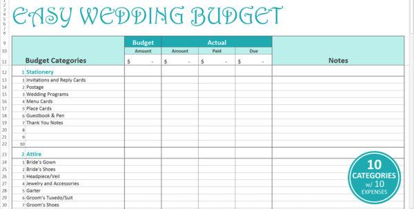 Wedding Planner Excel Spreadsheet Within Wedding Planning Excel Spreadsheet  Aljererlotgd