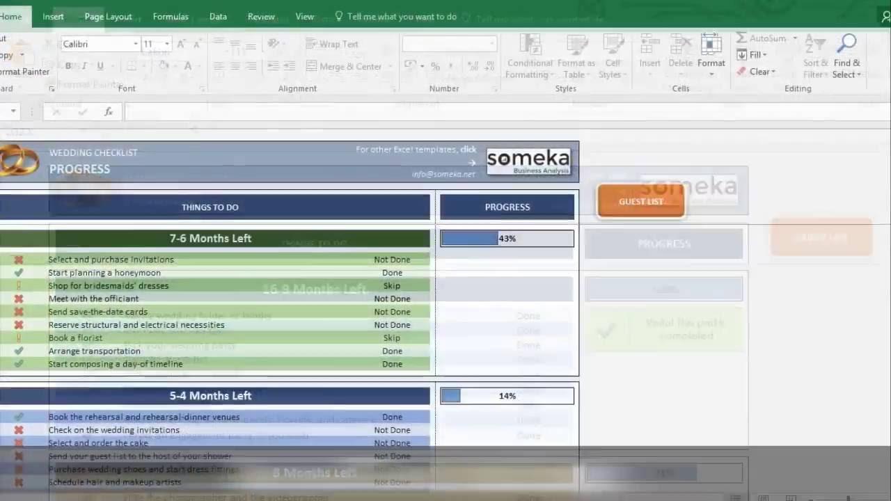 Wedding Planning Checklist Excel Spreadsheet Throughout Wedding Checklist  Excel Template For Wedding Planning