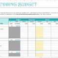 Wedding Planning Excel Spreadsheet Template For Wedding Planning Budget Spreadsheet Template Checklist Xls Australia