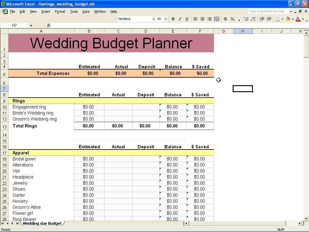 Wedding Planning Excel Spreadsheet Template Within Wedding Planning Excel Spreadsheet And Wedding Planning Excel