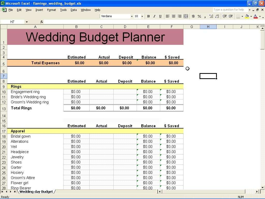 Wedding Planning Excel Spreadsheet Throughout Wedding Planning Excel Spreadsheet And Wedding Planning Excel