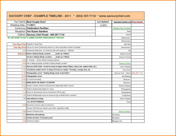 Wedding Planning Spreadsheet Free Pertaining To Wedding Planning Spreadsheet Free  My Spreadsheet Templates