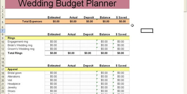 Wedding Planning Spreadsheet Free Within Destination Wedding Planning Spreadsheet Awesome Elegant Budget Wedding Planning Spreadsheet Free Google Spreadsheet