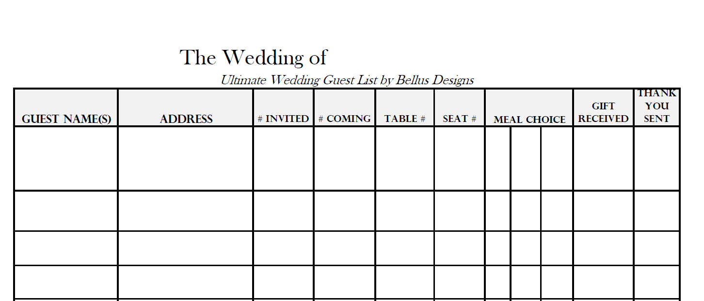 Wedding Rsvp Tracker Spreadsheet Intended For Wedding Rsvp Tracker Spreadsheet #27237670815 – Wedding Rsvp Tracker