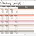 Wedding Spreadsheet Australia Inside 013 Wedding Budget Template Excel Ideas ~ Ulyssesroom