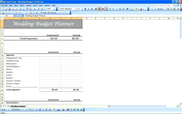 Wedding Spreadsheet Australia Pertaining To Wedding Checklist Template Australia – Free Wedding Template