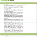 Wedding To Do List Excel Spreadsheet pertaining to Ultimate Wedding To Do List For Wedding Planning