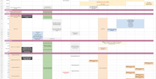Wedding Vendor Comparison Spreadsheet Pertaining To Every Spreadsheet You Need To Plan Your Custom Wedding