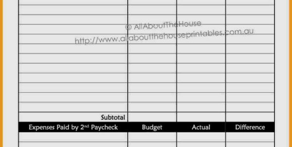 Weekly Budget Spreadsheet Regarding Weekly Budgeting Worksheets Bi Budget Template Awesome Bud Of Simple