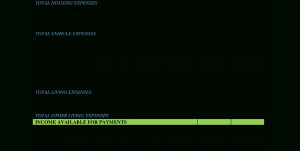 Weekly Paycheck Budget Spreadsheet Regarding Free Bi Weekly Paycheck Budget  Templates At Allbusinesstemplates