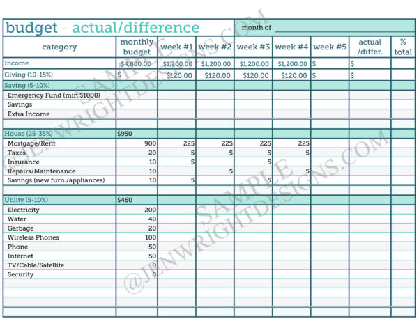 Weekly Paycheck Budget Spreadsheet Within Example Of Weekly Paycheck Budget Spreadsheet Week Template Selo L