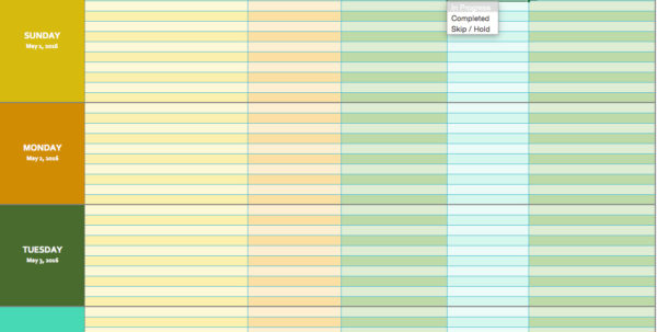 Weekly Schedule Spreadsheet For Scheduling Templates Excel Project Planner Template 2010 Production