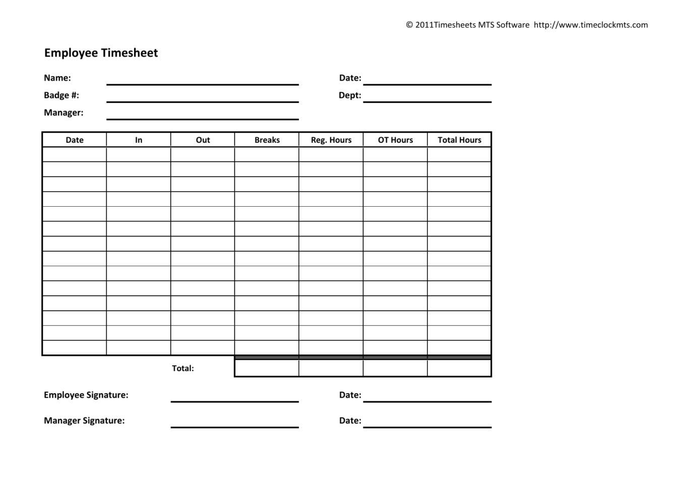 Weekly Timesheet Spreadsheet Throughout Download Weekly Timesheet Template  Excel  Pdf  Rtf  Word