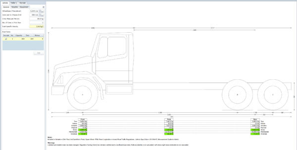 Weight Distribution Spreadsheet Throughout Using Truckscience Axle Weight Calculator For Calculating Axle