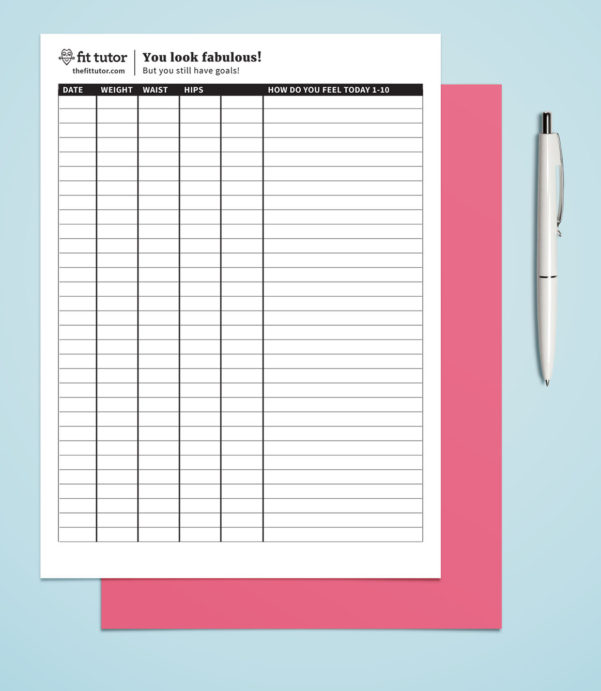 Weight Loss Tracking Spreadsheet Template Download With Weight Loss Chart  Free Printable  Reach Your Weight Loss Goals