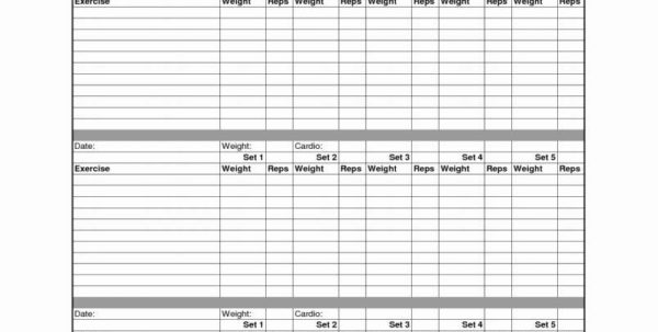 Weight Training Spreadsheet Template Pertaining To Weight Loss Excel Template  Indiansocial