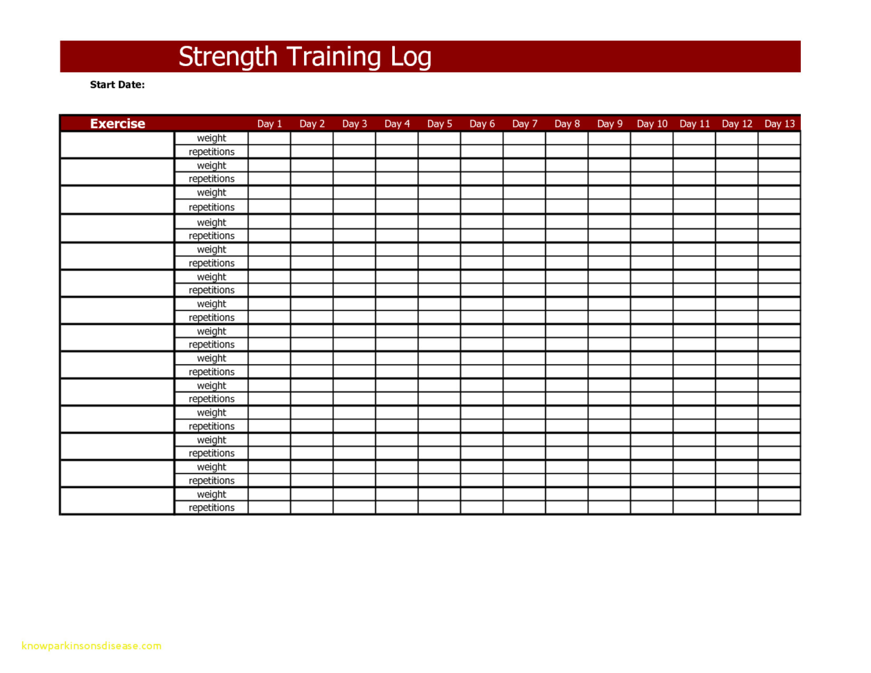 Weight Training Spreadsheet Template With Regard To Top Result 62 Awesome Weight Training Log Template Collection 2018