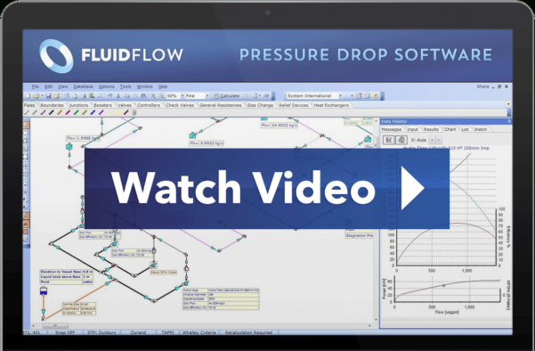 Weir Calculation Spreadsheet With Fluidflow Pipe Flow Pressure Drop Software