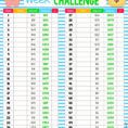 Wendler 531 Spreadsheet Intended For 52 Week Money Challenge Excel  Kayakmedia.ca
