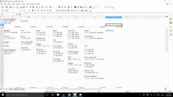 Westside Barbell Program Spreadsheet Throughout Westside Barbell Program Spreadsheet – Spreadsheet Collections