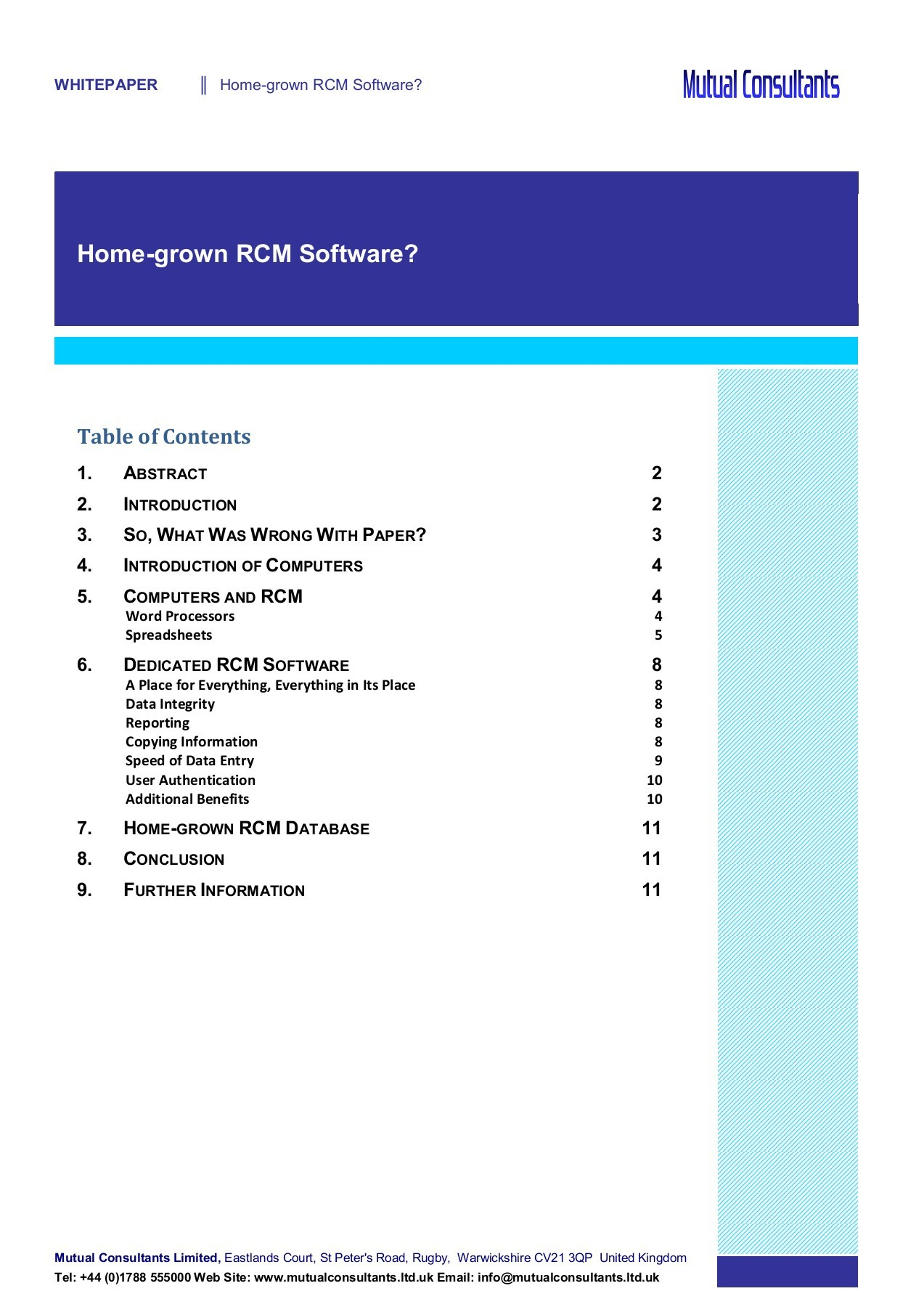 What Are Spreadsheets Databases And Word Processing Programs With Homegrown Rcm Software Pages 1  11  Text Version  Fliphtml5