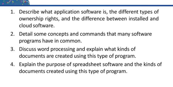 What Do Presentation And Spreadsheet Software Have In Common With Regard To Understanding Computers  Ppt Download