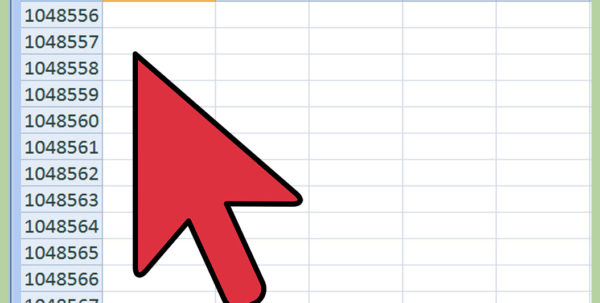 What Is A Row In A Spreadsheet Regarding How To Generate A Number Series In Ms Excel: 9 Steps