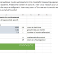 What Is A Spreadsheet Model With Solved: Below Is The Spreadsheet Model We Looked At In Thi