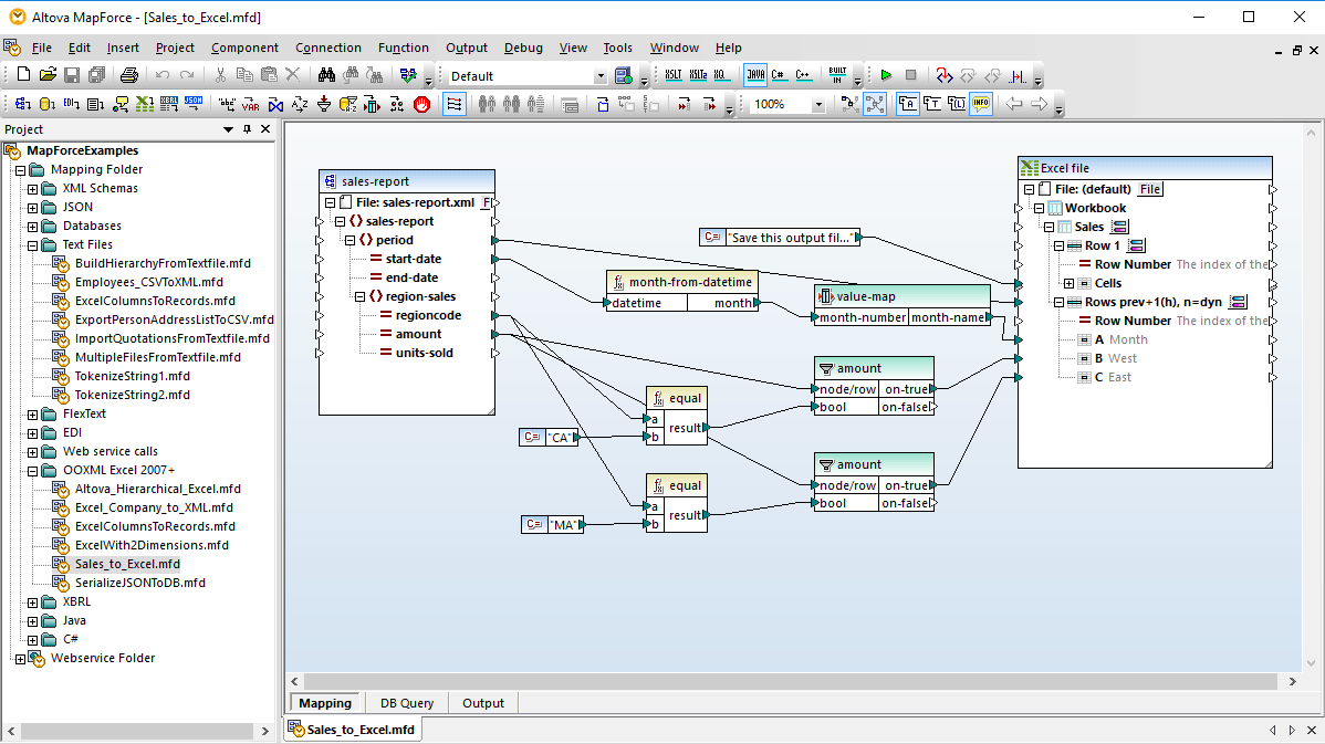 What Is An Xml Spreadsheet With Excel Mapping  Altova