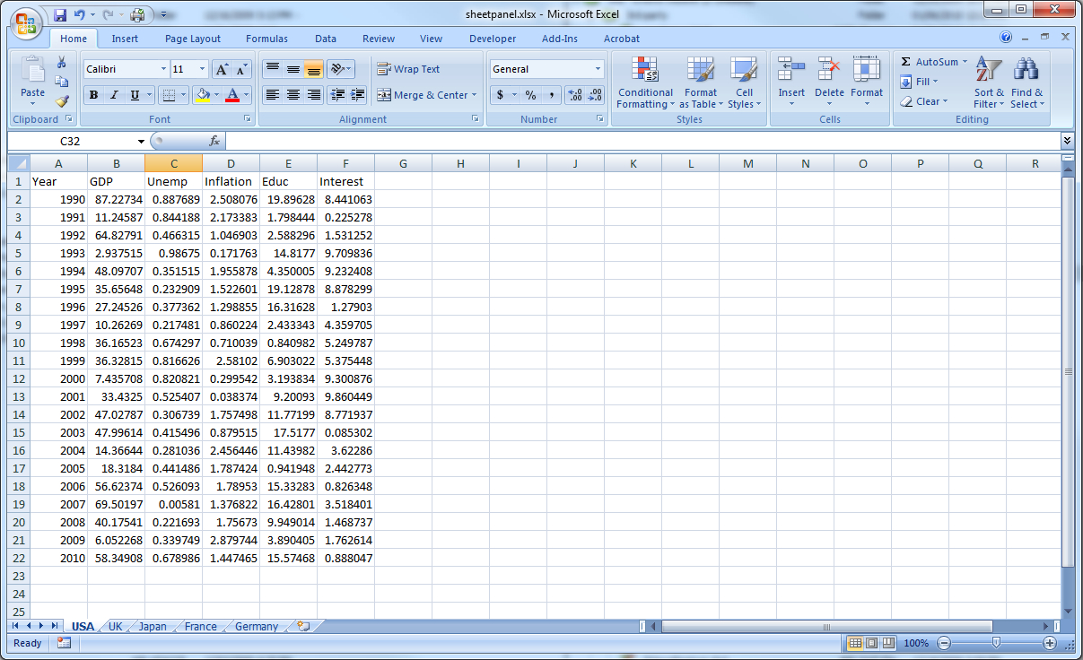 What Is Spreadsheet In Excel Pertaining To Reading Multisheet Excel Files Into Multipage Eviews Files