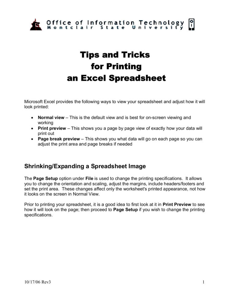 What Is The Best Way To Print An Excel Spreadsheet In Excel  Tips And Tricks For Printing An Excel Spreadsheet  Pages