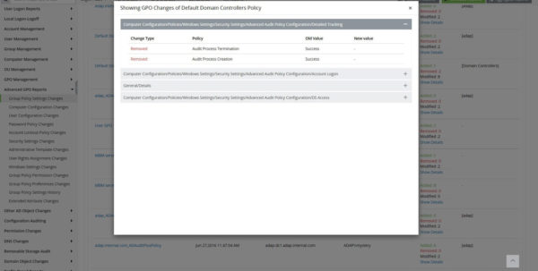 Windows 10 Group Policy Settings Spreadsheet For Realtime Group Policy Objects Auditing And Reporting With New And
