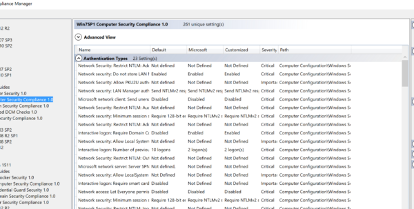 Windows 10 Group Policy Settings Spreadsheet With Securing Windows Workstations: Developing A Secure Baseline – Active Windows 10 Group Policy Settings Spreadsheet Google Spreadsheet