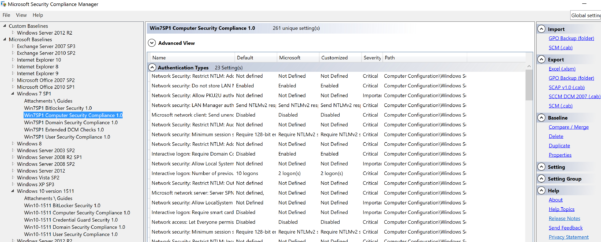 Windows 10 Group Policy Settings Spreadsheet With Securing Windows Workstations: Developing A Secure Baseline – Active