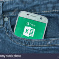 Windows Spreadsheet App For Montreal, Canada  September 8, 2018: Microsoft Excel Mobile App