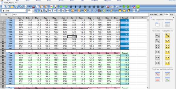 Windows Spreadsheet For Accel Spreadsheet  Ssuite Office Software  Free Spreadsheet
