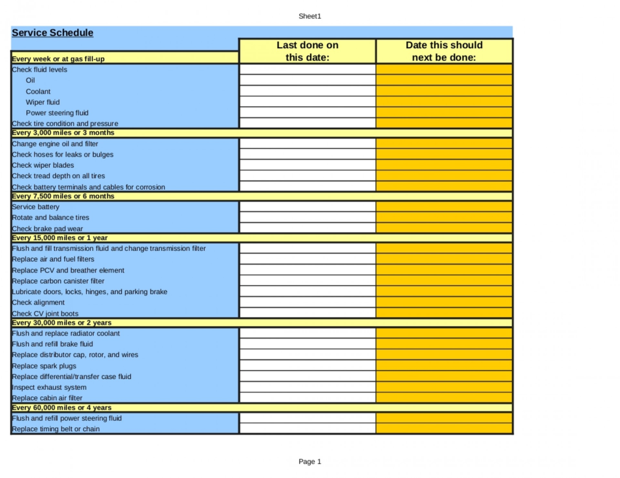 Wolf Requirements Spreadsheet For 020 Auto Maintenance Schedule Spreadsheet Pinlone Wolf Software