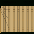 Wood Fence Estimate Spreadsheet Intended For Fence Calculator  Estimate Wood Fencing Materials And Post Centers