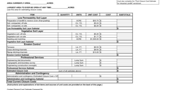 Wood Fence Estimate Spreadsheet Throughout Wood Fence Estimate Template Free Form Forms Invoice