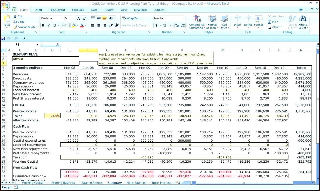 Word Spreadsheet Free In Yearly Business Plan Template Excel Bud Templates Sample Cash Budget